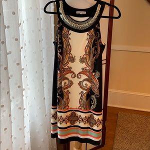 Sandra Darren Embellished Dress Size 10 in EUC